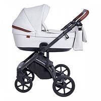 Детская глубокая универсальная коляска 2 в 1 Roan Bloom Milk Shake для детей 0-3 лет, белый