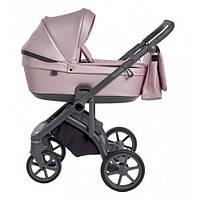 Детская глубокая универсальная коляска 2 в 1 Roan Bloom Pink Pearl для детей 0-3 лет, розовый