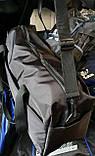 Дорожная спортивная черная сумка хорошего качества 50*30 см, фото 2
