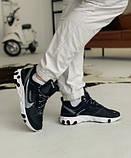 Кросівки чоловічі Nike REACT ELEMENT White logo Найк Реактив Елемент Білий логотип (41,43,44,45), фото 4