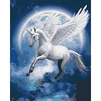 Картины по номерам 40х50 см Идейка Созвездие единорога (КНО4022)