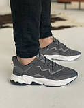 Кросівки Adidas Ozweego Grey Адідас Озвиго Сірі, кросівки чоловічі (41,42,43,44,45), фото 6