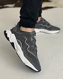 Кросівки Adidas Ozweego Grey Адідас Озвиго Сірі, кросівки чоловічі (41,42,43,44,45), фото 8