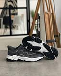 Кросівки Adidas Ozweego Grey Адідас Озвиго Сірі, кросівки чоловічі (41,42,43,44,45), фото 2