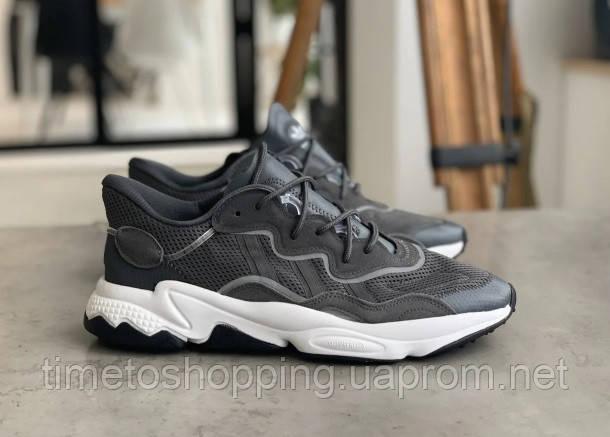 Кросівки Adidas Ozweego Grey Адідас Озвиго Сірі, кросівки чоловічі (41,42,43,44,45)