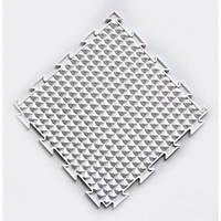 Коврик Ортодон Льдинки белые жесткие, 1 элемент,25*25 см, Ортопедический массажный коврик, Пазлы детский,