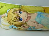 150 х 50 Дакимакура 900 Грн подушка для обнимания Мисава Махо  двусторонняя обнимашка, фото 7