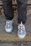 Жіночі кросівки Jimmy Choo grey/beige, фото 5