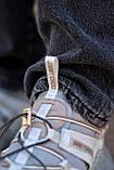 Жіночі кросівки Jimmy Choo grey/beige, фото 7