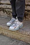 Жіночі кросівки Jimmy Choo grey/beige, фото 9