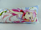 150 х 50 Дакимакура 900 Грн подушка для обнимания Симедзи (кукла с розовыми волосами) двусторонняя обнимашка, фото 6