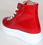Ботинки детские кожаные на байке от производителя модель ДЖ6082Д, фото 4