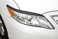 Накладки на фары Toyota Camry 40, Реснички Тойота Камри 40, фото 1