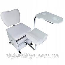 Косметологічне крісло - помічник для манікюру, педикюру