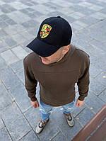 Чоловіча кепка бейсболка Porsche Порше чорна