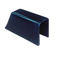 Концевик чёрный для привального бруса Osculati 44.488.01