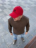 Чоловіча кепка бейсболка Філіп Плейн червона