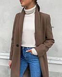 Пальто женское кашемировое, фото 4