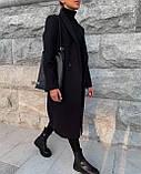 Пальто женское кашемировое, фото 7