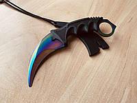 Нож керамбит тренировочный (тупой) из игры CS:GO (КС ГО) градиент