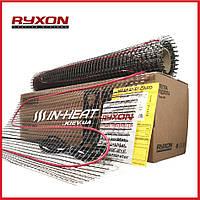 12 м² Теплый пол электрический Ryxon HM-200 / тонкий нагревательный мат для укладки под плитку в клей
