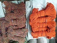 Мотузка для декору хб кольорова д. 6 мм