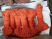 Мотузка для декору хб кольорова д. 8 мм