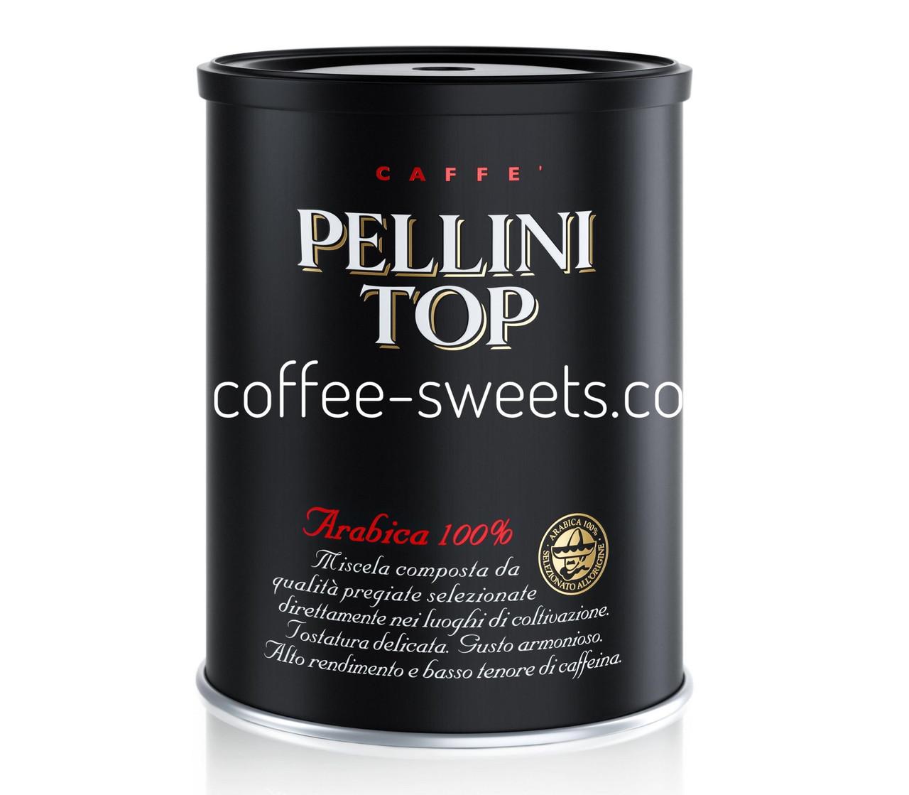 Кава мелена Espresso Pellini Top 250г ж/б