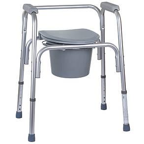 Алюминиевый стул-туалет 3 в 1 OSD-BL730200, фото 2
