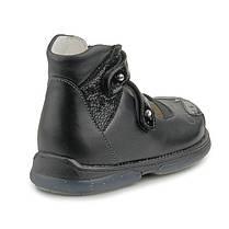 Ортопедические туфли для девочек Memo Princessa 3LY Черные, фото 2