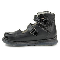Ортопедические туфли для девочек Memo Princessa 3LY Черные, фото 3