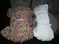 Мотузка для декору хб кольорова д. 14 мм
