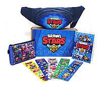 Бокс Старс с бананкой (блокнот, кошелек, закладки, бананка) – отличный подарок любителям игры Stars