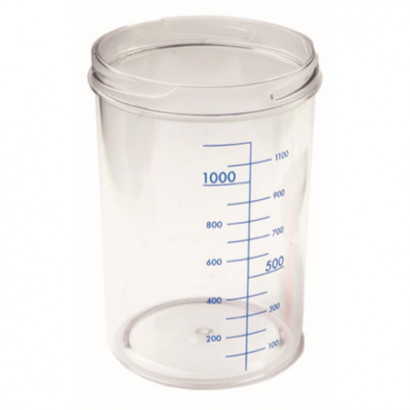 Емкость для аспиратора без крышки, 4 л, RE-210007