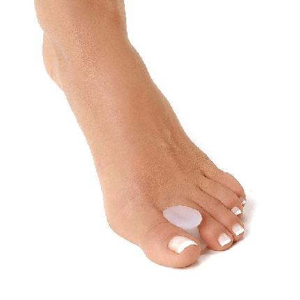 Межпальцевая перегородка силиконовая Qmed Hallux valgus toe separator I201, фото 2