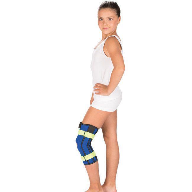 Бандаж на коленный сустав с металлическими шарнирами, Детский Тривес Т-8532