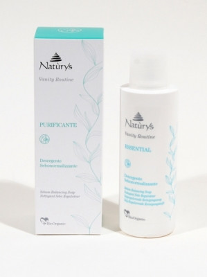 Жидкое мыло для лица для нормализации функции сальных желез Naturys ,200 мл