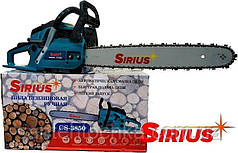 Бензопила SIRIUS CHAIN SAW CS-3850