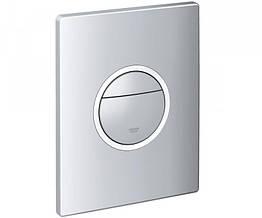 Кнопка для инсталляции GROHE Nova Light 38809000 универсальная двойная матовый хром 71041
