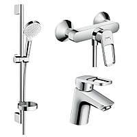Набор смесителей в ванную HANSGROHE LOGIS LOOP 1052019 хром латунь 71781
