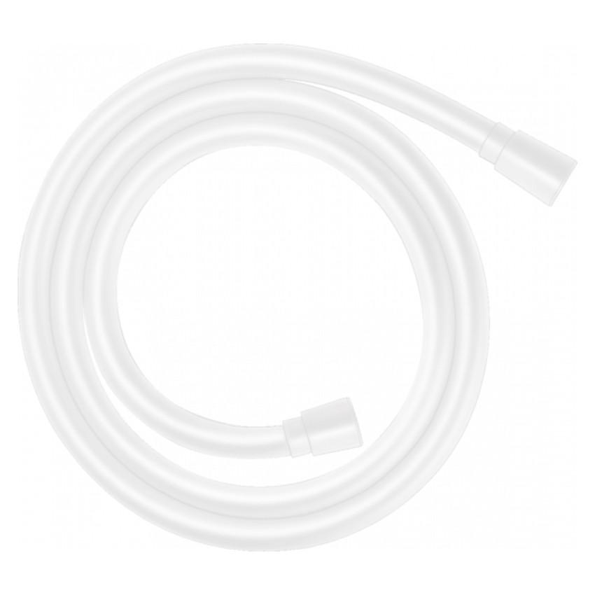 Шланг для душа резиновый 1600мм HANSGROHE ISIFLEX 28276700 белый 71800