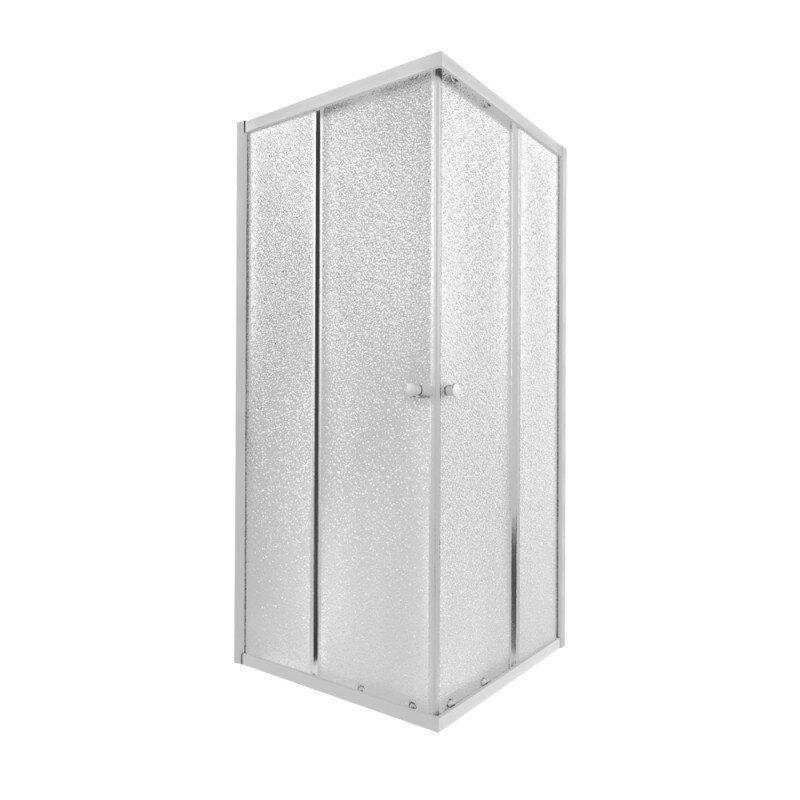 Кабина для душа квадратная угловая Q-TAP Presto PREWHI1099SP5 87см x 87см стекло 5мм белый 74627