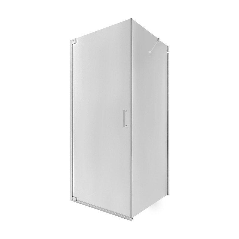 Кабина для душа квадратная угловая Q-TAP Aquarius AQUACRM1099SC6 87см x 87см стекло 6мм хром 74669