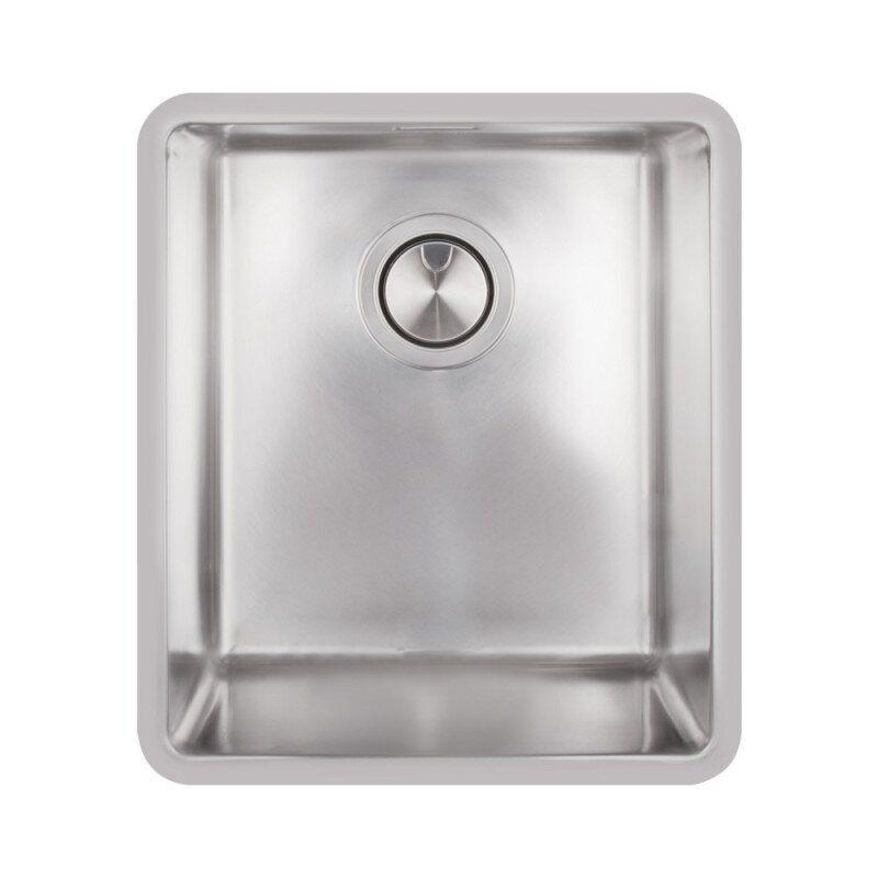 Раковина на кухню металлическая прямоугольная APELL FEM34UBC 376мм x 436мм матовая 1мм 62789