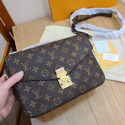 Сумка Louis Vuitton Metis кожа монограмм в коробке, фото 3