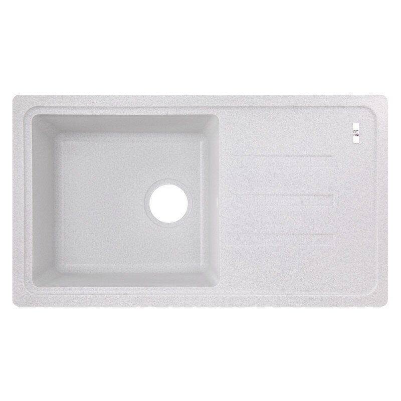 Кухонная мойка керамическая прямоугольная LIDZ 780х435 LIDZGRA09780435200 435мм x 778мм серый 75357
