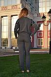Женский турецкий спортивный костюм, трикотаж, разм 42,44,46, фото 3
