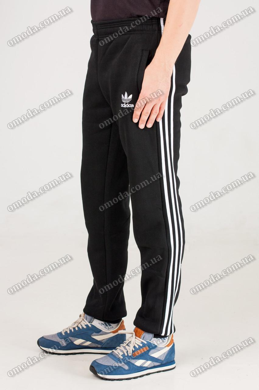 8ef0a204 Теплые спортивные штаны с лампасами черные - Интернет-магазин «Omoda» в  Киеве