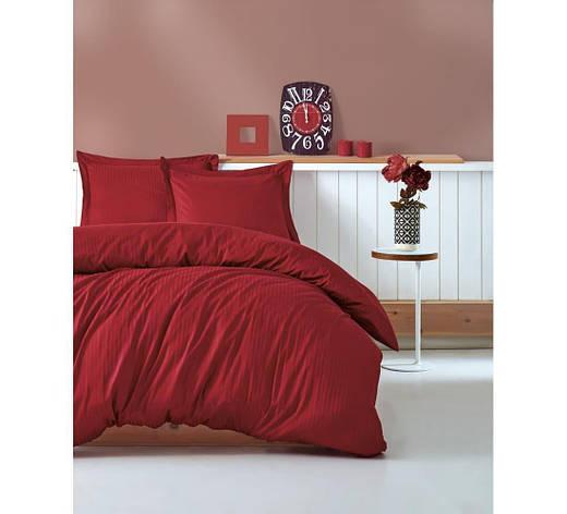 Постельное белье Cotton Box ELEGANT BORDO двуспальный - евро, фото 2
