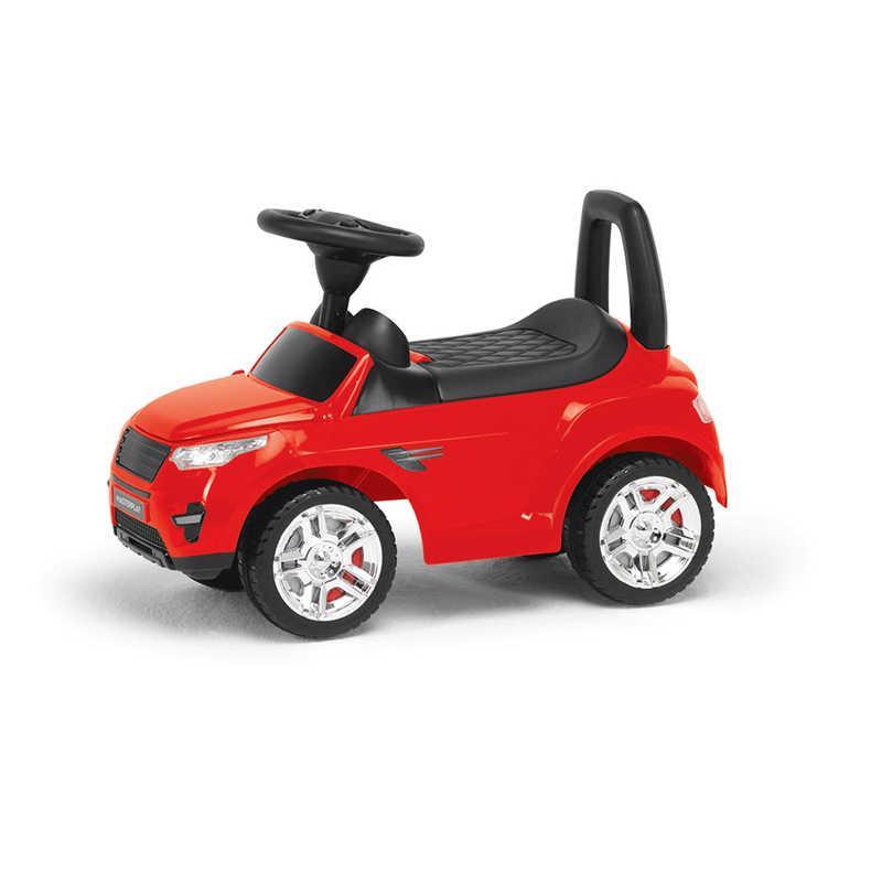 Каталка-толокар 2-006 - цвет красный (1) открывается капот, сиденье, светятся фары, муз.руль, в кульке